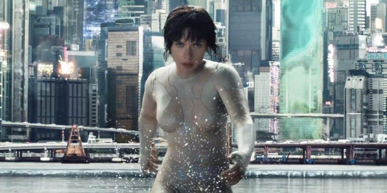 "Ve los primeros 5 minutos de ""Ghost in the shell"""