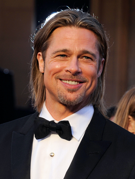 Brad Pitt corte Foto Getty Images